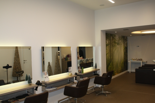 Realisaties van ACM Audio Solutions - Hairlounge in Dilsen-Stokkem